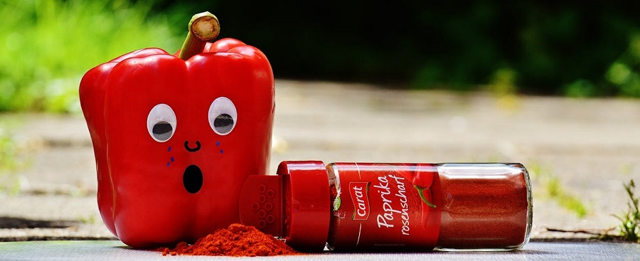 financial marketing - picture of a sad paprika