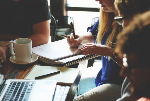 project management at a financial marketing agency