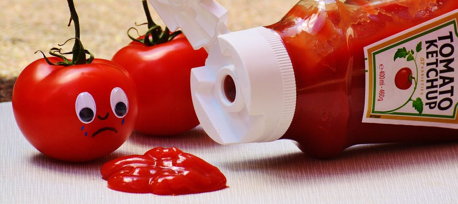 Red flags and ketchup at financial marketing agency