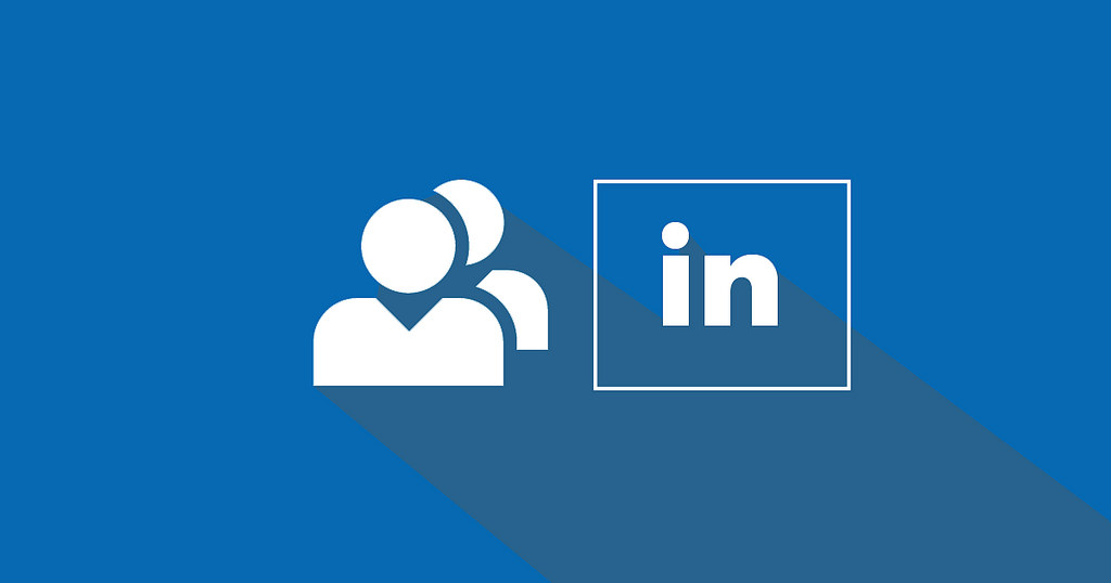 LinkedIn logo - used in financial marketing