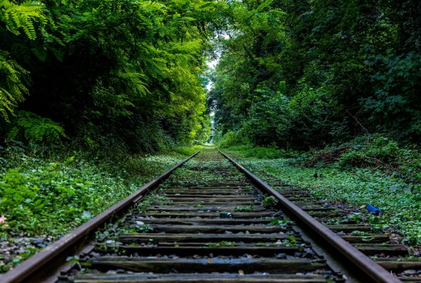 Image of a railway track
