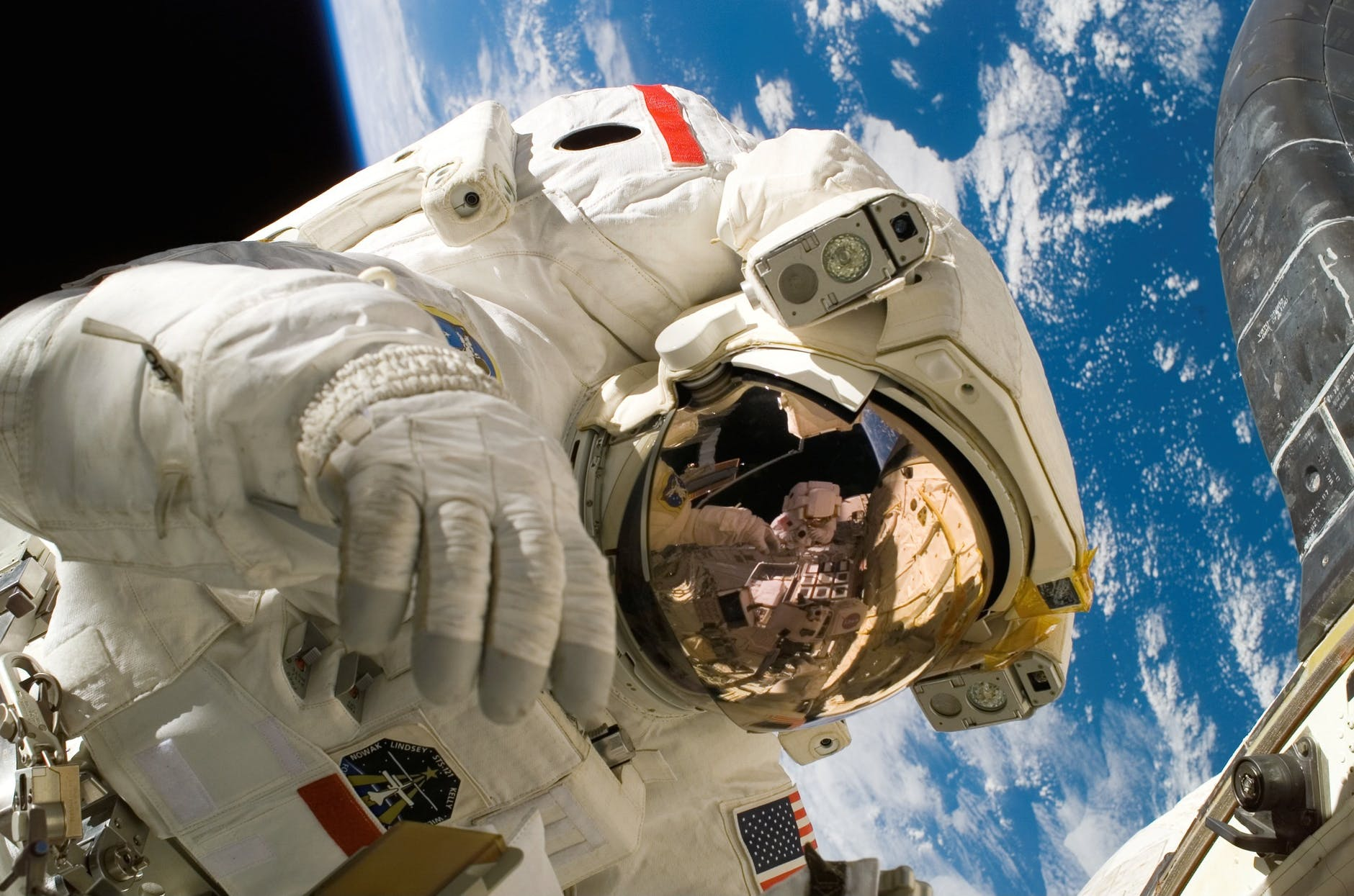 "astronaut illustrating financial marketing that's ""out of this world""!"