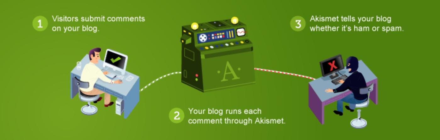 Akismet plugin for financial adviser marketing